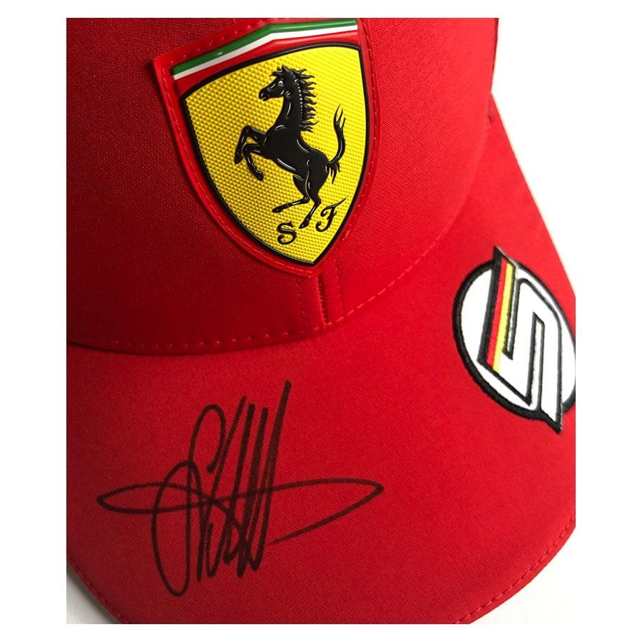 Sebastian Vettel Signed Personal 2019 Cap