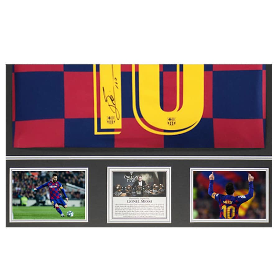 Messi SIgned Shirt
