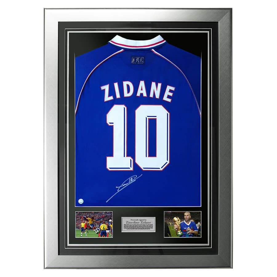 Zidane Signed Shirt