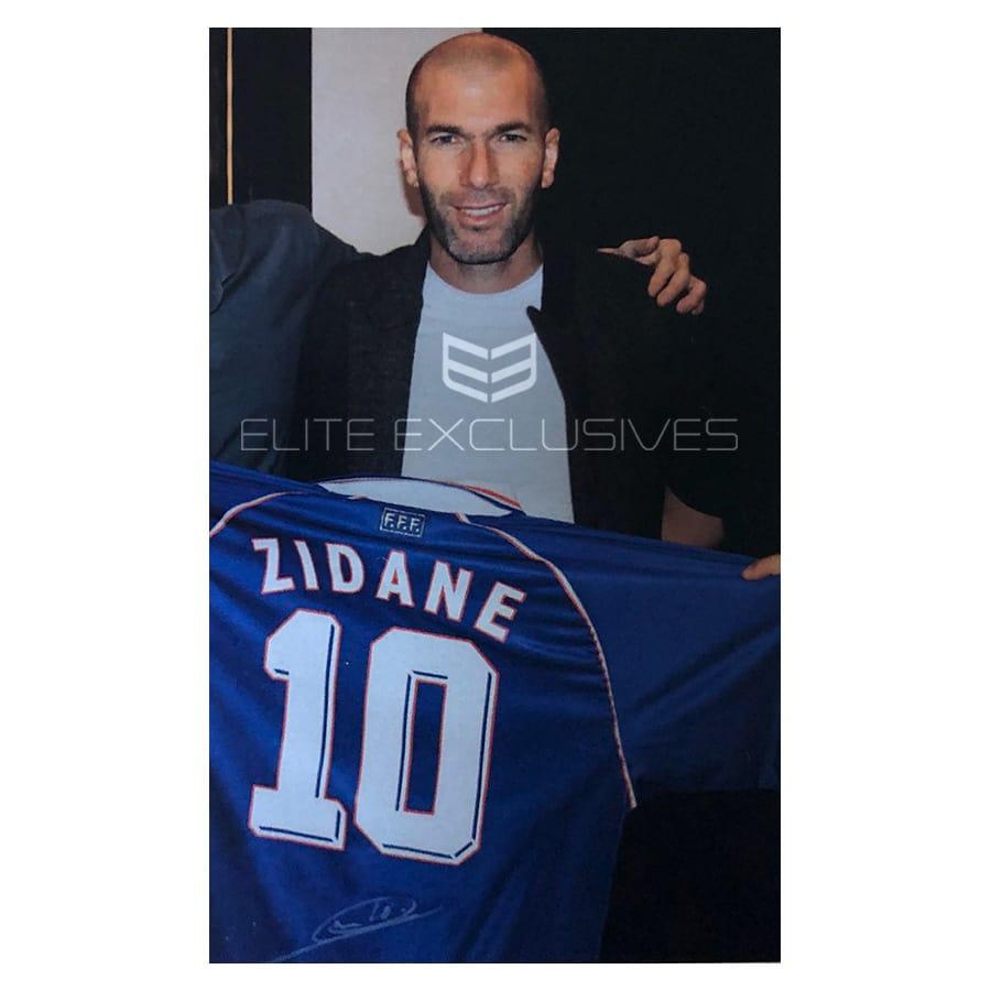 Zinedine Zidane Signed France 1998 Shirt