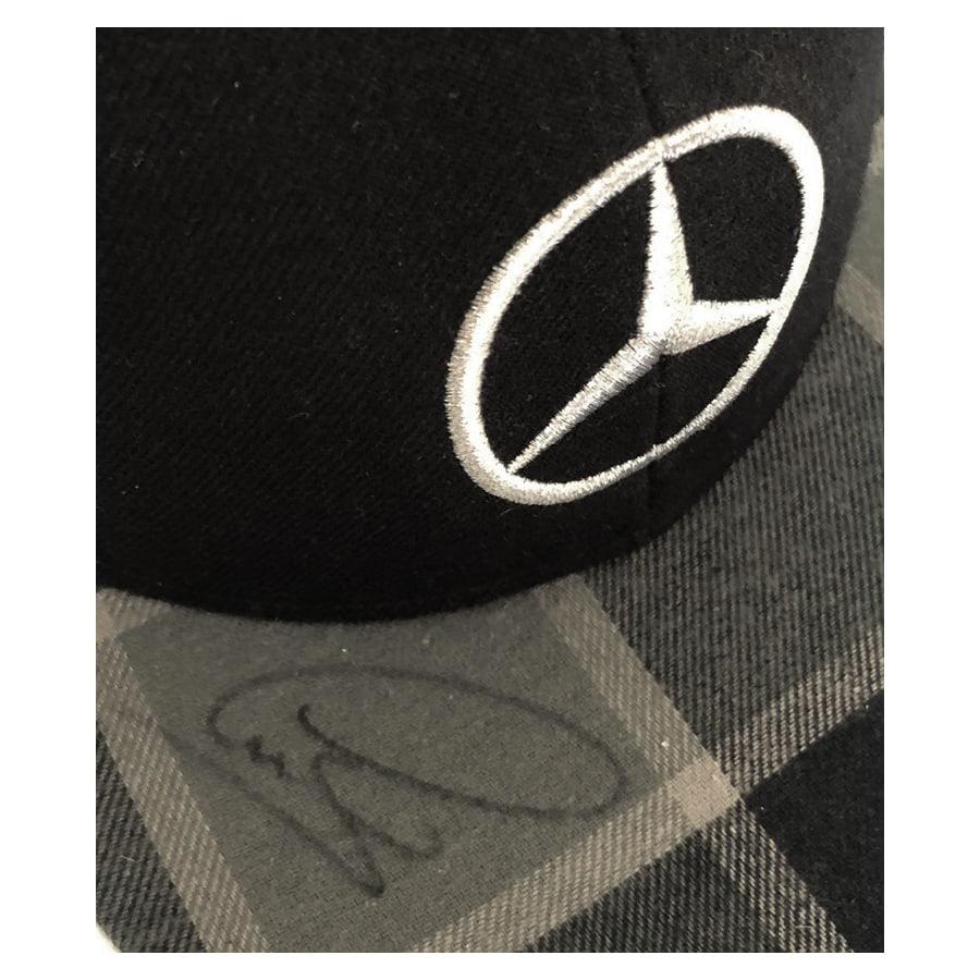 Lewis Hamilton Signed Mercedes Cap 2014 – Black