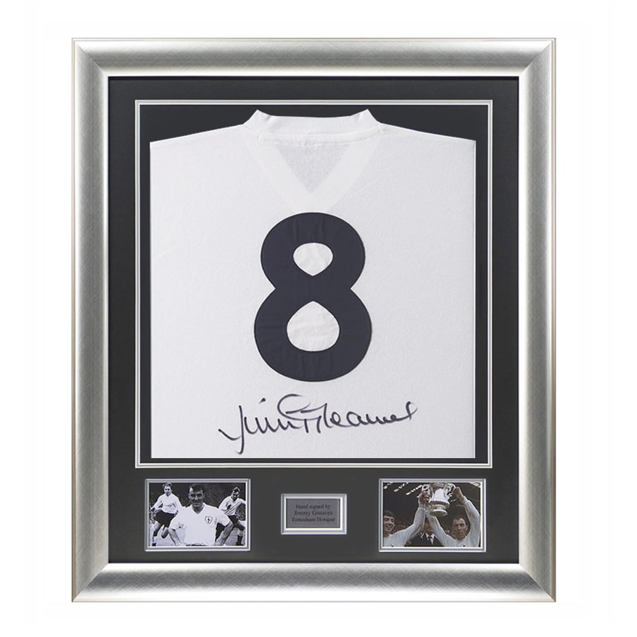 Jimmy Greaves Signed Spurs Shirt