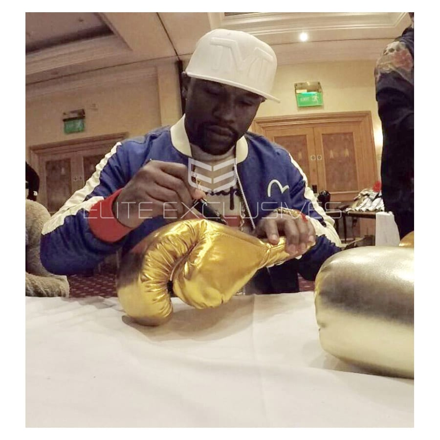 Floyd Mayweather Signed Boxing Glove – The Legacy