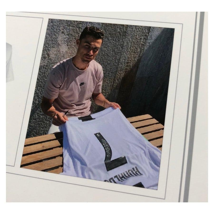 Cristiano Ronaldo Signed Shirt CR7 – Juventus