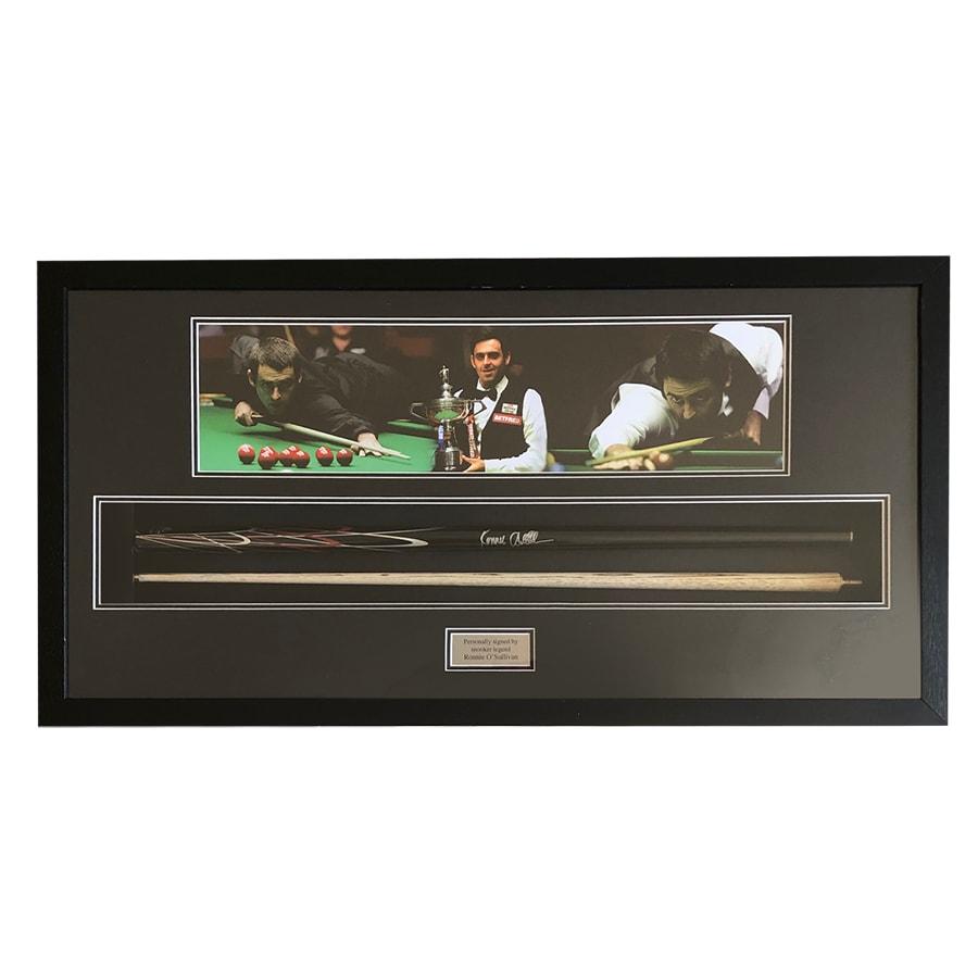 Ronnie O'Sullivan Signed Snooker Cue 2