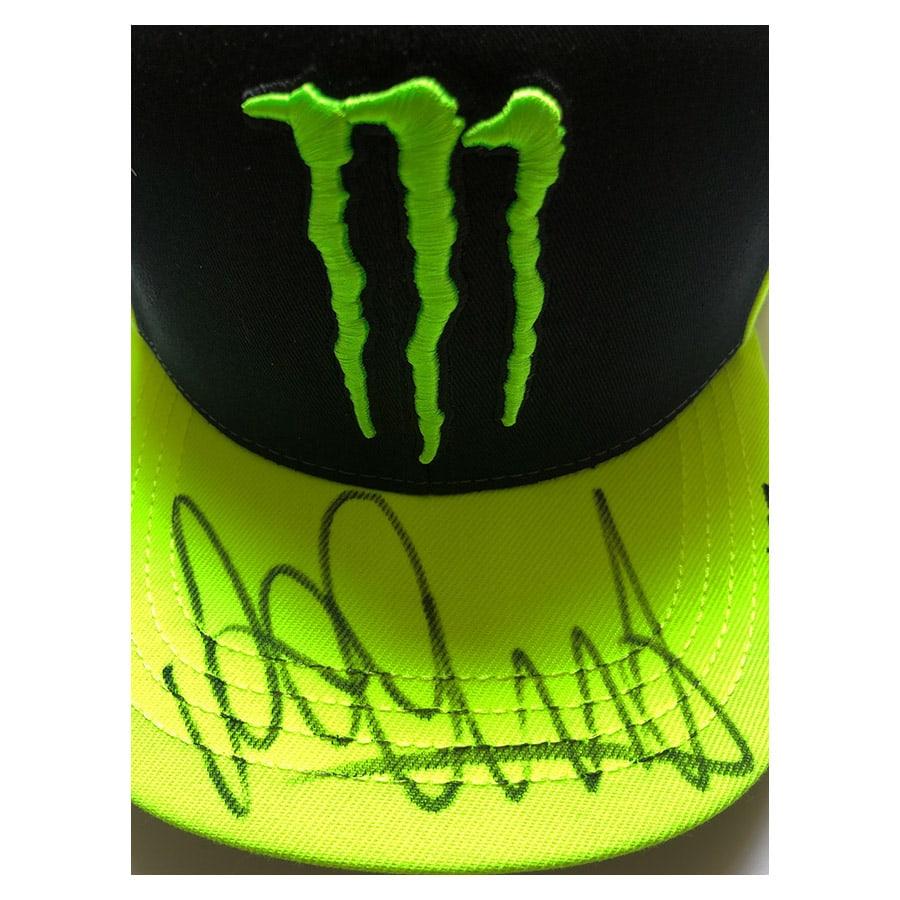 Valentino Rossi Signed Monster VR46 Cap
