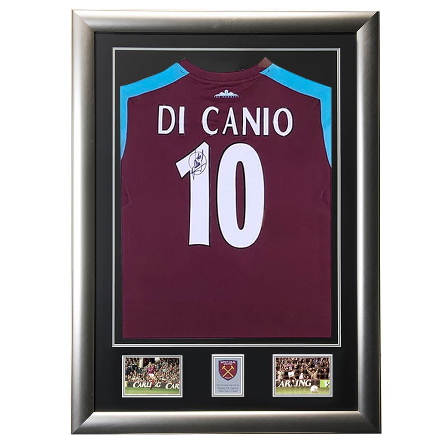 Paolo Di Canio Signed West Ham United Shirt