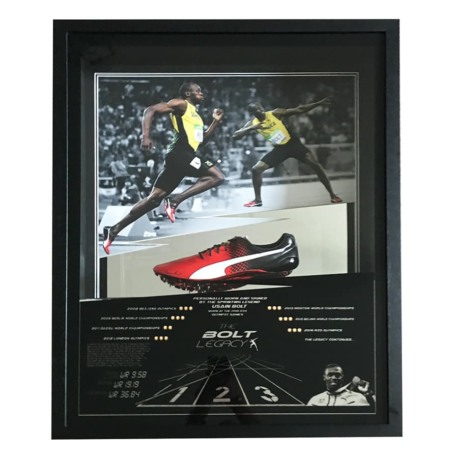 Usain Bolt Signed Personal Running Spike – Rio Olympics 2016