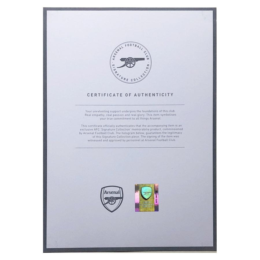 Pierre-Emerick Aubameyang Signed Arsenal FC Shirt