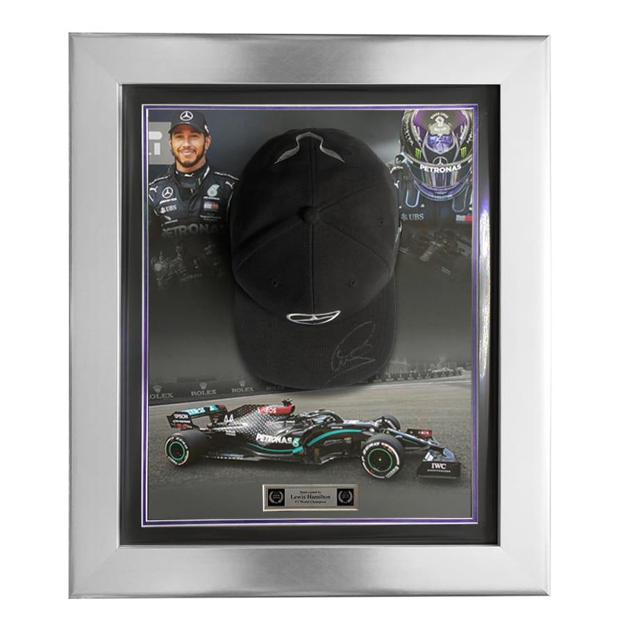 Lewis Hamilton Signed Mercedes Cap – 2020 Design