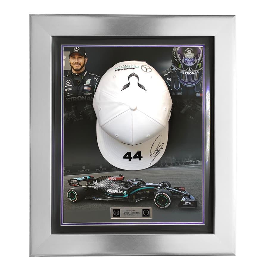 Lewis Hamilton Signed Mercedes Cap – 2020 Design 2