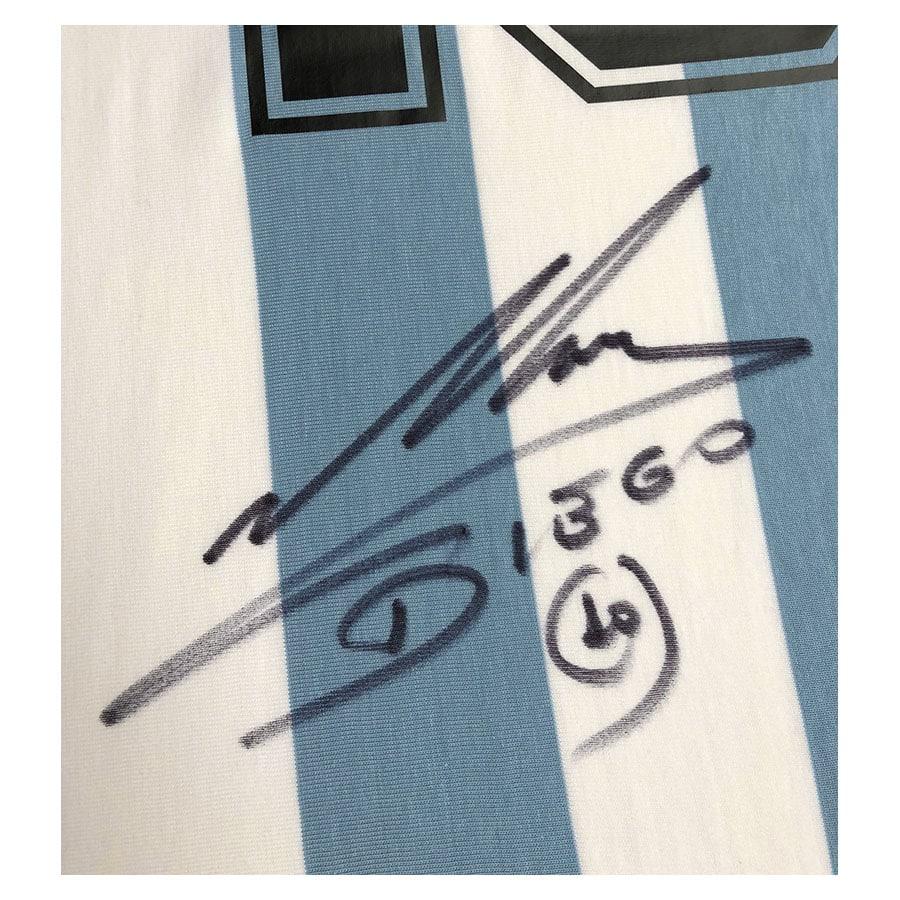 Diego Maradona Signed Argentina Shirt – Deluxe