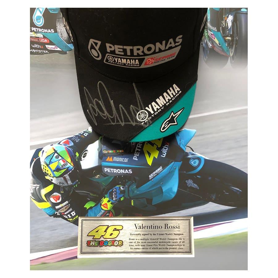 Valentino Rossi Signed Yamaha Petronas Cap – MotoGP 2021