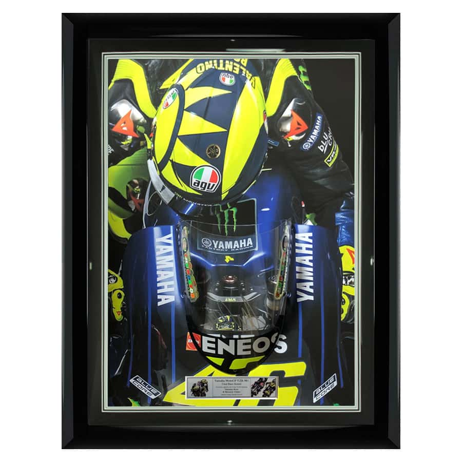 Valentino Rossi Signed MotoGP Yamaha M1 Screen – Very Rare