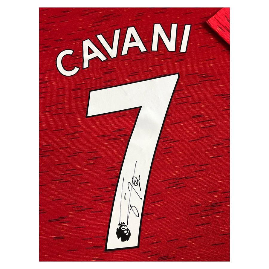 Edinson Cavani Signed Manchester United Shirt