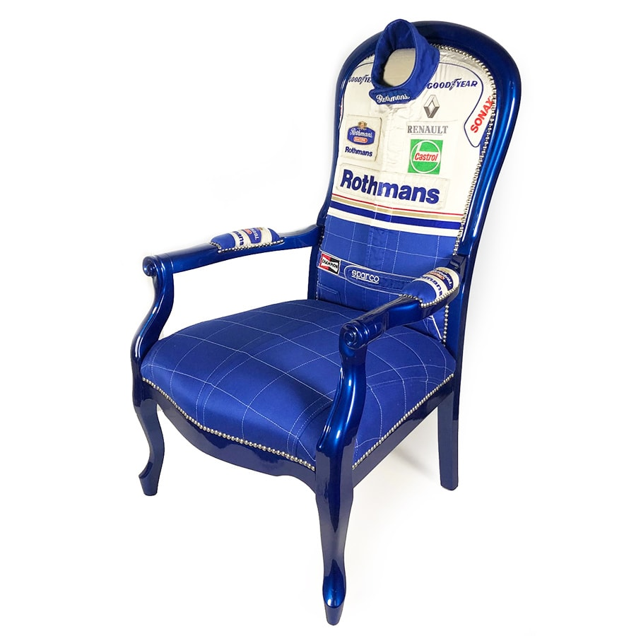 Williams Rothmans F1 Team Suit Chair
